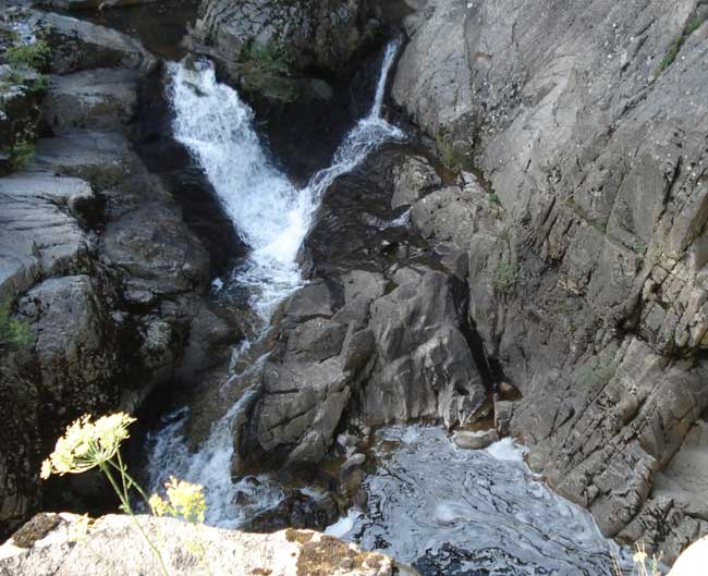 Le Saut de la Saule - Saint-Thomas (15) Cascade